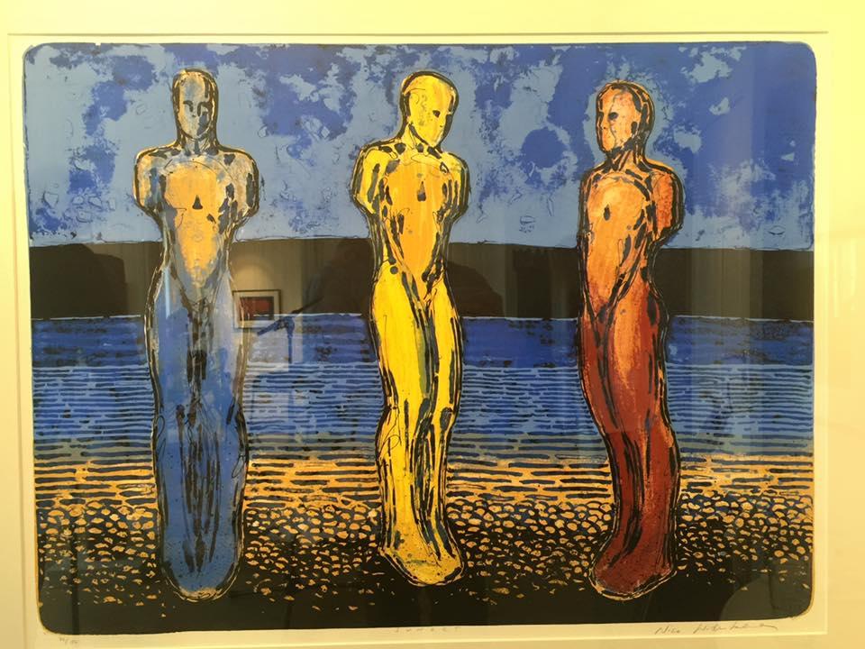 Åpning av Nico Widebergs utstilling på Galleri Brogata 2